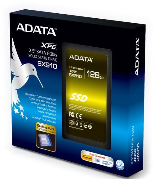 ADATA XPG SX910 128GB SSD cho nhu cầu cao cấp