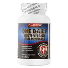 Viên uống vitamin tổng hợp Pharmekal One Daily Multivitamin 60 viên