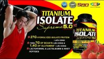 SAN Titanium Isolate - whey protein hydrolyzed hấp thu nhanh có tỉ lệ protein cao nhất