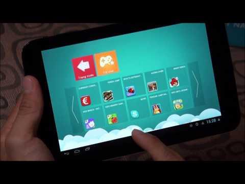 """NAHI Kids N70: Thiết bị chơi mà học 7"""" dành cho trẻ em"""